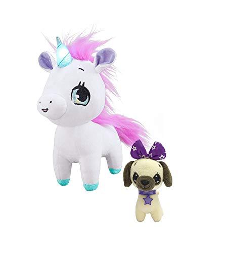 Wish Me Pets Bundle - Pink Unicorn + Mini Luna Pug