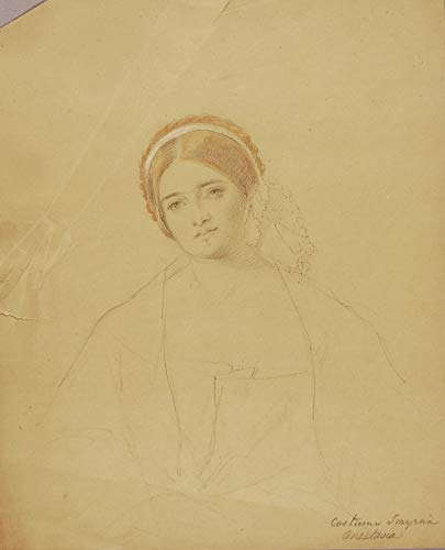 Pster de Miner Kilbourne Kellogg: Anastasia (disfraz, Smirna), obra de arte vintage, 24 x 17 pulgadas (A2)