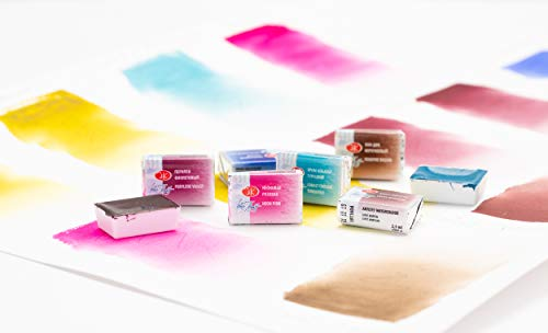 White Nights Watercolours - Set of 10 of 2020 Newest Colors awaliabe 2.5ml Full Pans Artistic Watercolours