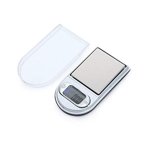 Hoge Precisie Mini-Aansteker Elektronische Weegschaal Kleine Sieradenschaal 0,01 G Draagbare Handpalmschaal Zakschaal -100 G / 0,01 G