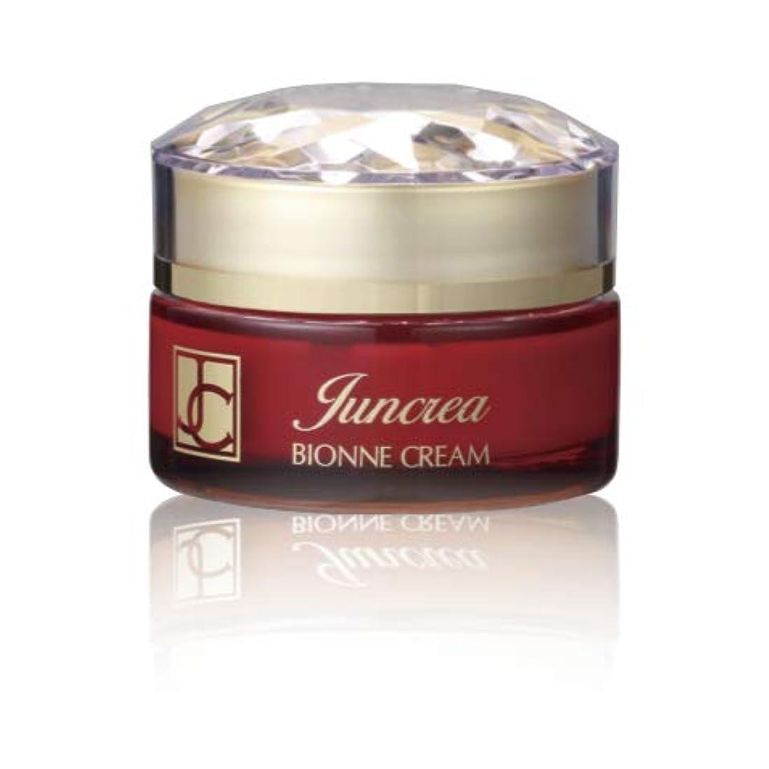 後ろに異なる光沢ジュンクレア化粧品 ビオンネクリーム 保湿クリーム
