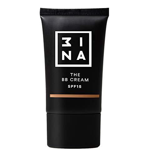 3INA | Maquillage Sans Cruauté | Vegan | Fond de Teint | SPF 15 | Longue Tenue | Fini Naturel | Texture lègere | The BB Cream 104 Beige