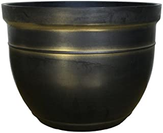 Southern Patio CMX-040200 Madison Planter, Gold
