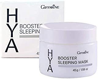 Giffarine Hya Booster Sleeping Mask,Hyaluronic Night skin cream soft touch gel moisture 45g./1.59Oz.