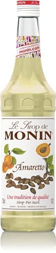 Monin Kaffee und Bar Sirup Amaretto 0,7 ltr