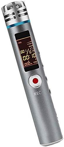 ZouYongKang Grabador de voz digital de 16GB Grabadora activada por voz con reproducción: grabadora de cinta pequeña actualizada para conferencias, reuniones, entrevistas, mini grabadora de audio USB c