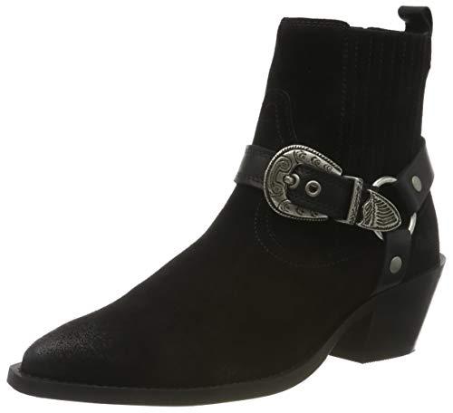 Buffalo Damen Fabia Cowboystiefel, Schwarz (Black 001), 38 EU