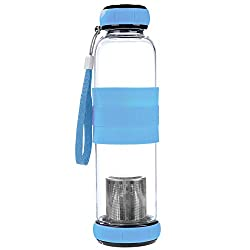 400 ml Reduce Fluoride Water Bottle Filter Increase pH Remove Heavy Metals /& Chlorine pH HYDRATE Glass Alkaline Water Bottle Portable Filtered Water Bottle Ionizer