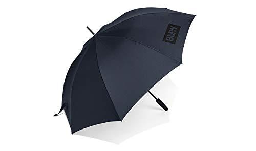 BMW 80232454628 Regenschirm aus der Hauptkollektion, großes Logo, Dunkelblau
