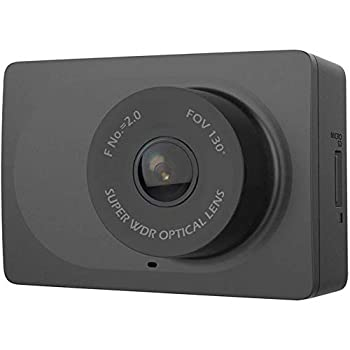 YI cm YI-89006 2.7 FHD 1080p 1920x1080 F1.8 H.264 WDR HDR 64GB mSD Smart Dash