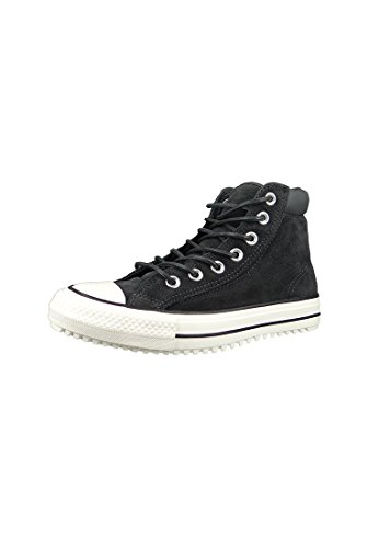 Converse Womens Chuck Taylor All Star Boot PC Hi Grey Leather Trainers 8 US