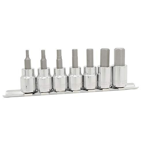 PWT 3/8インチ 9.5mm ヘックス ビットソケットセット H3,H4,H5,H6,H8,H10,H12 IBS38HSET