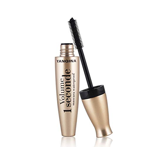 KKAAMYND 3D Fiber Mascara Long Black Lash Wimpern Extefor Nsion Wasserdichtes Augen Make-up Tool, Gold, Gönnen Sie Sich oder Ihrer Lieblingsperson Dieses spektakuläre Geschenk für jeden Anlass