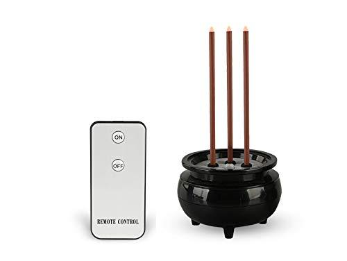 小田工房 LED式電子線香(リモコン、電池付) (2.5寸)