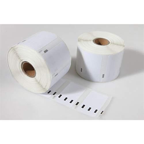 LabelTrade Kompatibel/Ersatz für Dymo 11354 57 x 32 mm 1000 Label Etiketten pro Rolle (20x)