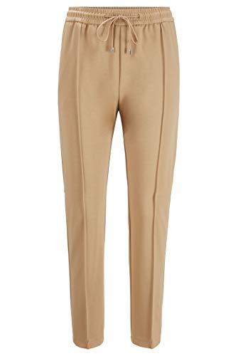 BOSS C_Tannia 10232502 01 Pantalones, Beige262, 46 para Mujer