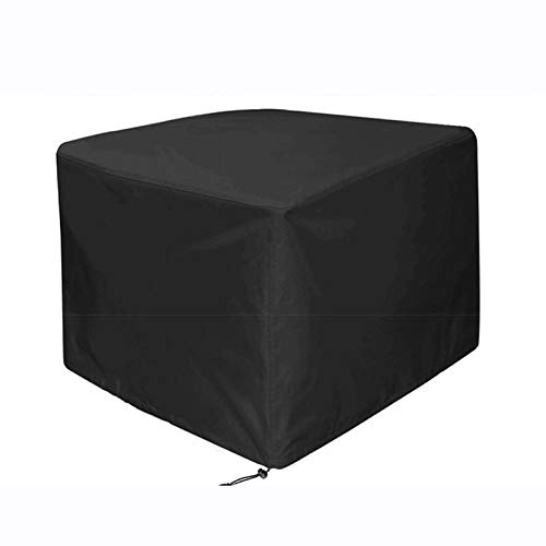 Dr.COLORFUL Funda para Muebles de Jardín, Copertura Impermeable para Mesas Rectangular, Funda Protectora Anti-UV para Patio123x123x74cm