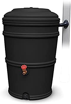 Earth Minded Rain Barrel Plastic 45 Gal