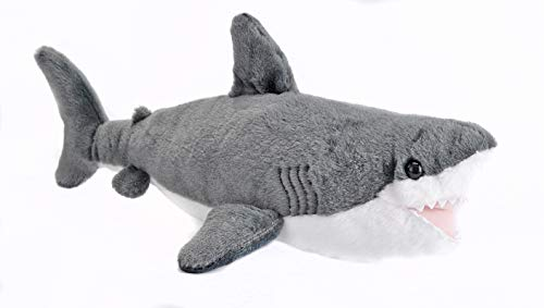 Wild Republic-22462 Peluche Tiburón Cuddlekins, Color Gris