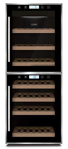 Caso 652 Wine Master Touch 38-2D Cantinetta per Vino, Tecnologia Compressore