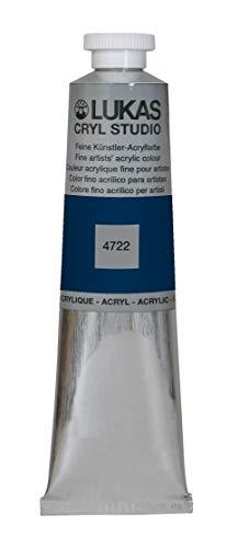 LUKAS Cryl Studio 75 ml, Acrylfarbe in Premium-Qualität, Indigo