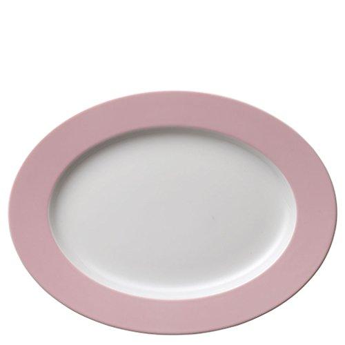 Assiette de Service Thomas Sunny Day, Assiette Large, Plate, Porcelaine, Rose Clair, 33 cm, 12733