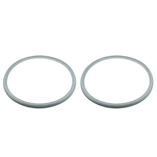 2 Paquetes de Neumáticos de Poliuretano para Silla de Ruedas, Accesorios Antideslizantes para Neumáticos de Repuesto de 24