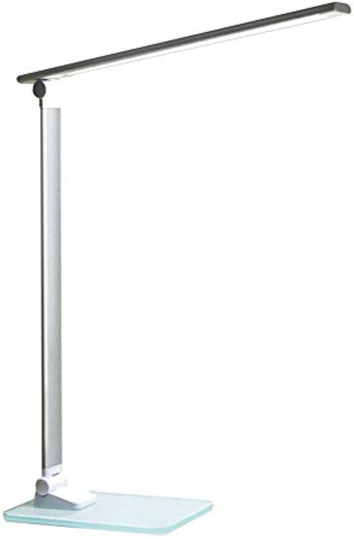 TLgf LED-Lesentisch Augenschutz Lampe lesen Studie Lernen Falten kreativ stufenlose Dimmel tragbare Glasbasis