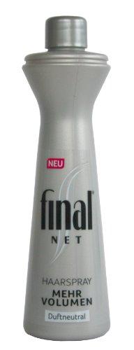 Final Net Haarspray Nachfüllflasche mehr Volumen Duftneutral 125ml