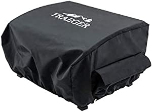 Traeger Grills BAC475 Scout and Ranger Grill Cover, Black