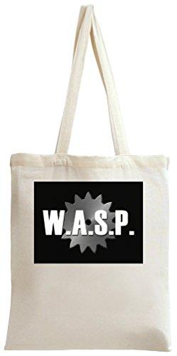 W.A.S.P. Chainsaw Logo Tote Bag