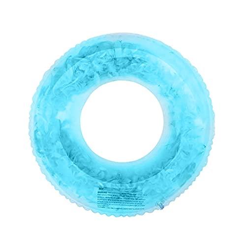Playa Nadar Inflable Sofá Air Sofá Float (Color : Blue 90cm)