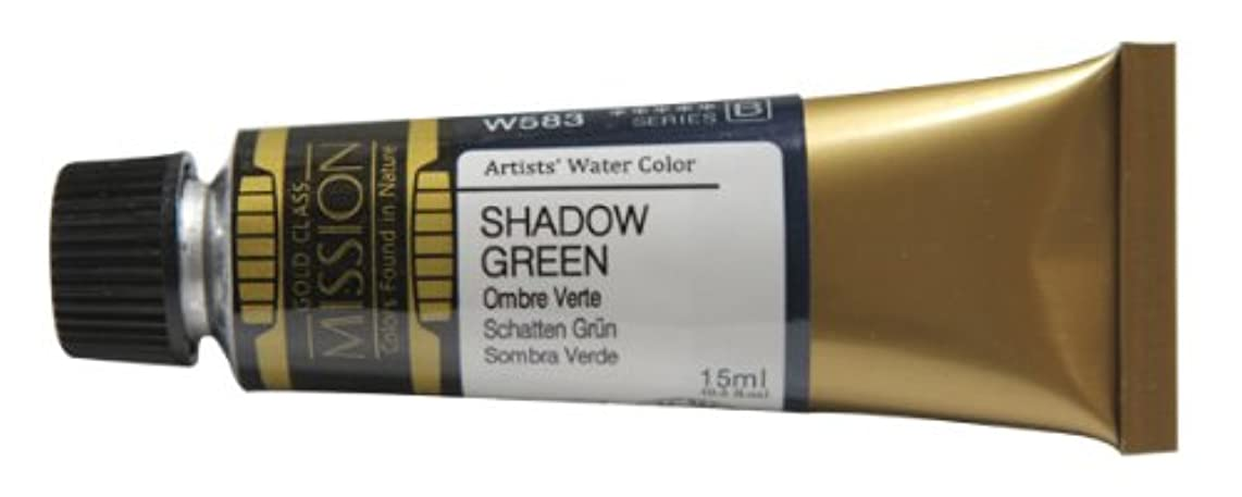 Mission Gold Water Color, 15ml, Shadow Green