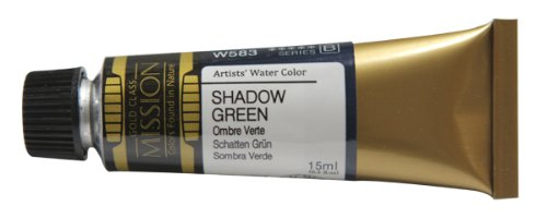 Mijello Mission Gold Water Color, 15ml, Shadow Green