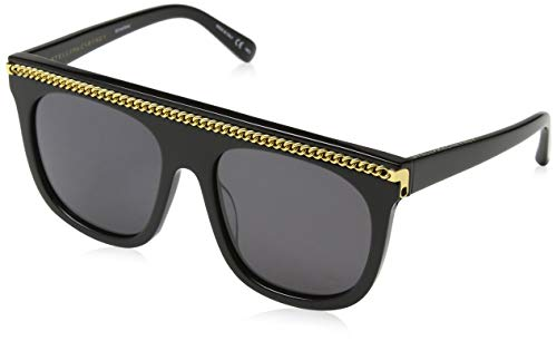 Stella McCartney SC0043S 001 Gafas de sol, Negro...