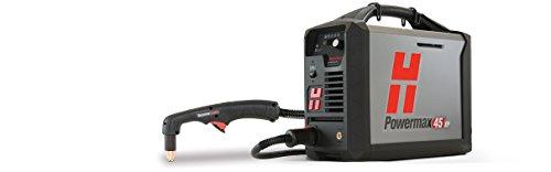 Hypertherm 088149 Serie powermax45 XP Stroomvoorziening met CPC-poort en spanningsverdeler met afstandsbediening, hanger, 180 graden doorlopende machine-zaklamp, 400 V, 10,6 m