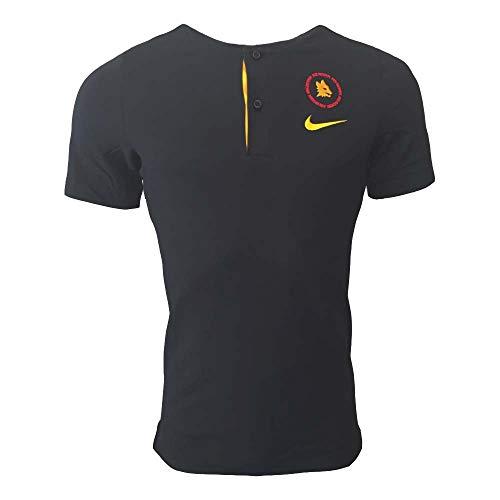 Nike Roma M NSW Modern GSP AUT, Polo Uomo, Black/University Gold/(University Gold) (No spon-Player), L