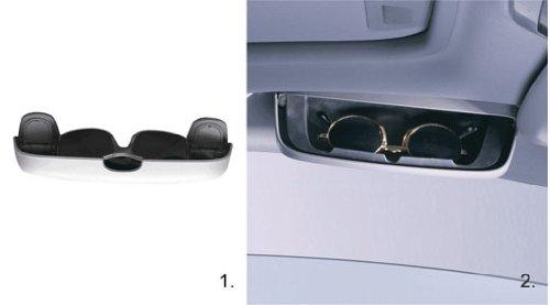 Genuine Volvo 31403479 Charcoal Solid Sun Glasses Holder