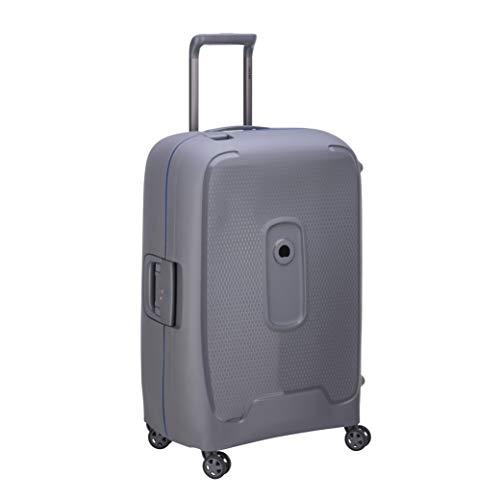 Delsey Paris Moncey Suitcase, 69 cm, 86 L, Grey