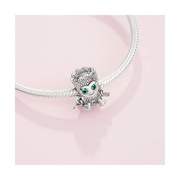 Pandora Jewelry Sweet Tree Monster Sterling Silver Charm