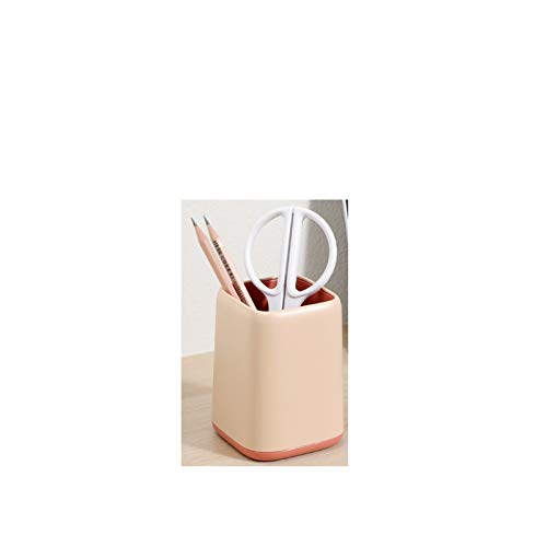 FDSJKD Multifunción Escritorio Soporte de bolígrafo Oficina Caso de Almacenamiento Escuela Colorido Plástico Caja Escritorio Pluma Lápiz Organizador Móvil (Color : A)