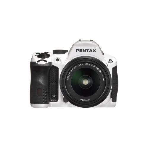 Pentax 15724 K-30 Lens Kit White w/DA 18-55 WR -  Pentax-15724