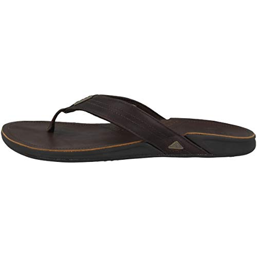 Reef Herren J-Bay Iii Flipflop, Dark Brown/Dark Brown, 43 EU