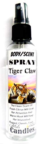 Tiger Claw - 4oz Body Spray/Room Spray/Scent Spray - This is one of my favorite mens cologne scents.