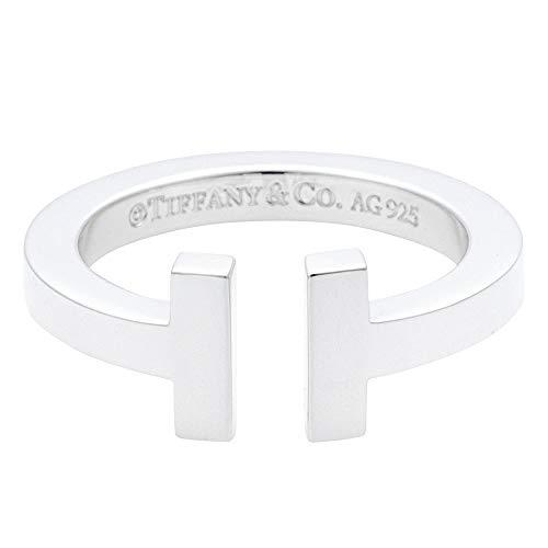 [ティファニー] TIFFANY スターリングシルバー ティファニー T スクエア リング 指輪 【並行輸入品】 33429932 日本サイズ7号 (USサイズ4号)
