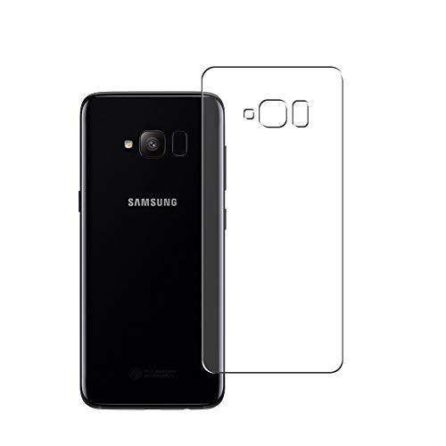 Vaxson 2 Unidades Protector de pantalla Posterior, compatible con Samsung Galaxy S Light Luxury / S8 Lite/S Lite [No Vidrio Templado] TPU Película Protectora Espalda Skin Cover