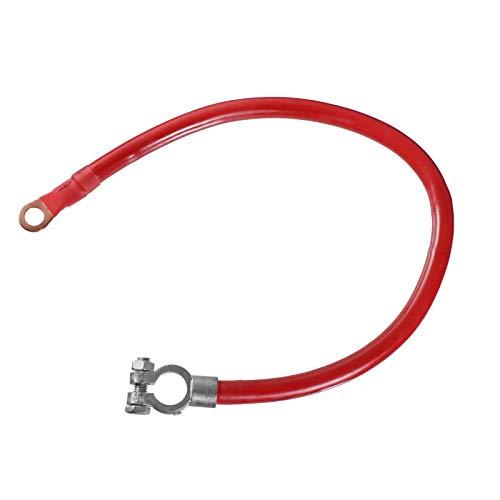 40cm Plusleitung Öse: M10 Rot Batteriekabel Batterieklemme Massekabel KFZ LKW Isoliert