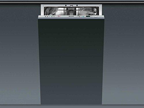 Smeg STA4525 Entièrement intégré 10places A++ lave-vaisselle - Lave-vaisselles (Entièrement intégré, Acier inoxydable, boutons, froid, chaud, 10 places, 44 dB)