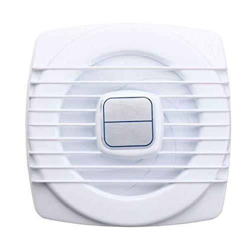 Extractor De Baño, Bathroom Extractor Ventilador, Fan Extractor de cocina Blanco Mini Mini Ensayo ventilador Ventilación Ventilación Cocina Cocina Baño Aseo Ventilador Agujero Tamaño 105105mm 4 Pulgad