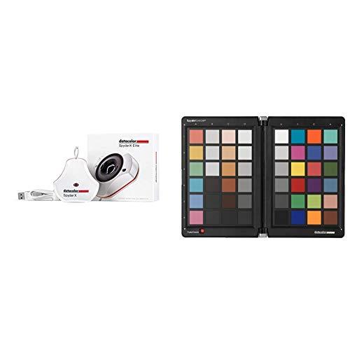 Datacolor SpyderX Elite – Monitorkalibrierung entwickelt für Experten, Profi-Fotografen sowie für die Videobearbeitung (SXE100) & Spyder Checkr - SCK100